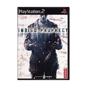 Jogo Indigo Prophecy - PS2