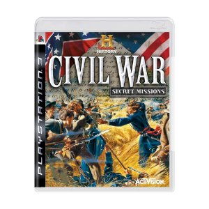 Jogo History Civil War: Secret Missions - PS3