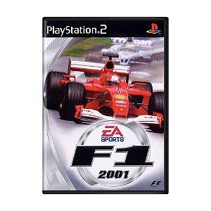 Jogo F1 2001 - PS2