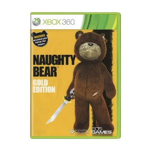Jogo Naughty Bear (Gold Edition) - Xbox 360