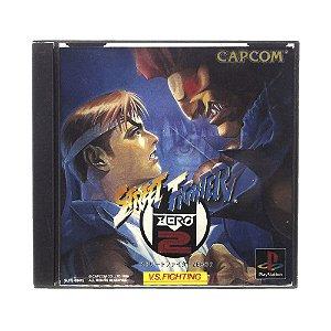 Jogo Street Fighter Zero 2 - PS1 (Japonês)