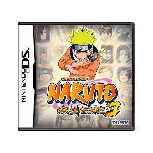 Jogo Naruto Ninja Council 3 - DS