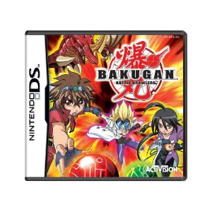 Jogo Bakugan Battle Brawlers - DS