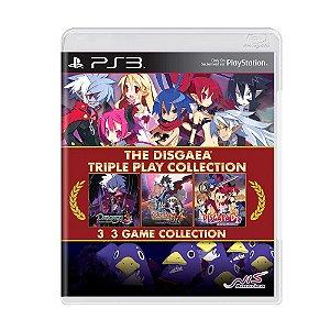 Jogo The Disgaea Triple Play Collection - PS3