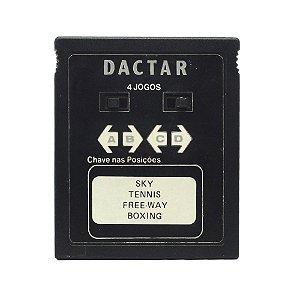 Jogo Dactar 4 em 1 (Sky, Tennis, Freeway e Boxing) - Atari