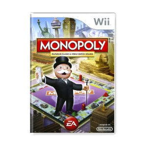 Jogo Monopoly featuring Classic & World Edition Boards - Wii