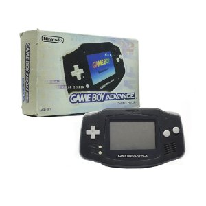 Console Game Boy Advance Preto - Nintendo