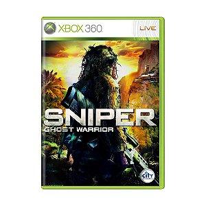 Jogo Sniper Ghost Warrior - Xbox 360