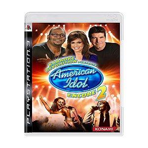 Jogo Karaoke Revolution presents: American Idol Encore 2 - PS3