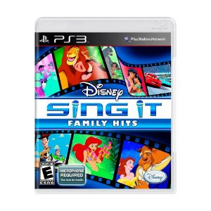 Jogo Disney Sing It: Family Hits - PS3