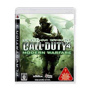 Jogo Call of Duty 4: Modern Warfare - PS3