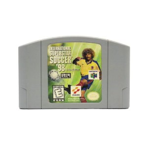 Jogo International Superstar Soccer 98 - N64