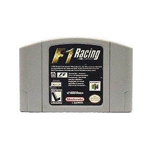 Jogo F1 Racing Championship - N64