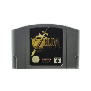 Jogo The Legend of Zelda: Ocarina of Time - N64 (Europeu)