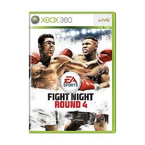 Jogo Fight Night Round 4 - Xbox 360