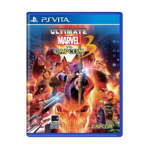 Jogo Ultimate Marvel Vs. Capcom 3 - PS Vita