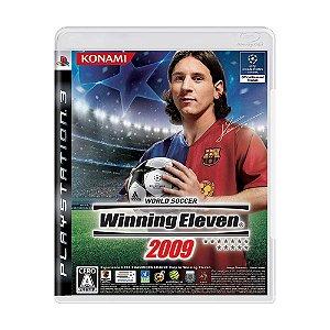 Jogo World Soccer: Winning Eleven 2009 - PS3 (Japonês)