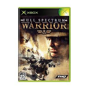 Jogo Full Spectrum Warrior - Xbox (Japonês)