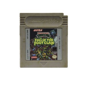 Jogo Teenage Mutant Ninja Turtles: Fall of the Foot Clan - GBC
