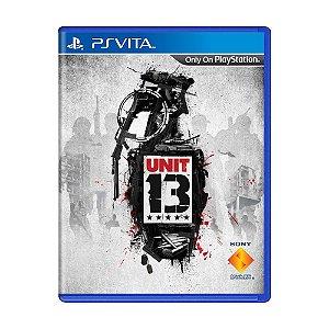 Jogo Unit 13 - PS Vita