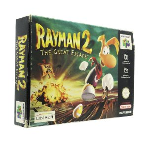 Jogo Rayman 2: The Great Escape - N64 (Europeu)