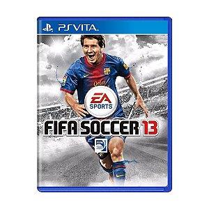 Jogo FIFA Soccer 13 - PS Vita