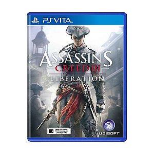 Jogo Assassin's Creed III: Liberation - PS Vita