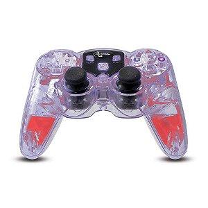 Controle DreamGEAR Sem Fio Transparente - PS2