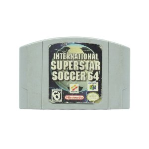 Jogo International Superstar Soccer 64 - N64