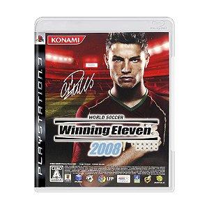 Jogo Winning Eleven 2008 - PS3 (Japonês)