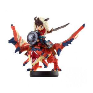 Nintendo Amiibo: One-Eyed Rathalos and Rider (Boy) - Monster Hunter Stories - Wii U, New Nintendo 3DS e Switch