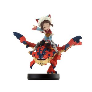 Nintendo Amiibo: One-Eyed Rathalos and Rider (Girl) - Monster Hunter Stories - Wii U, New Nintendo 3DS e Switch