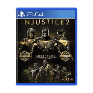 Jogo Injustice 2 (Legendary Edition) - PS4