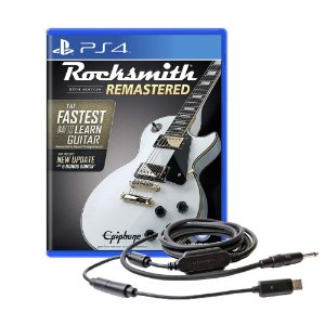 Jogo Rocksmith 2014 Edition Remastered + Cabo - PS4