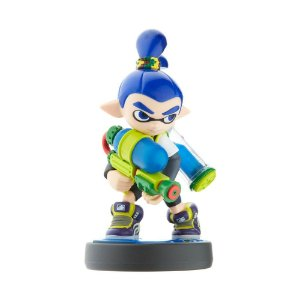Nintendo Amiibo: Inkling Boy (Blue) - Splatoon - Wii U, New Nintendo 3DS e Switch