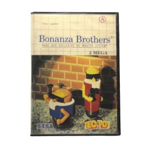 Jogo Bonanza Bros - Master System