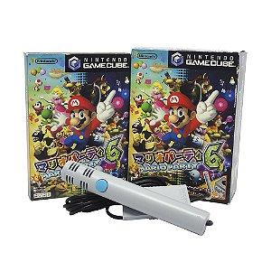 Jogo Mario Party 6 (Com Microfone) - GameCube (Japonês)