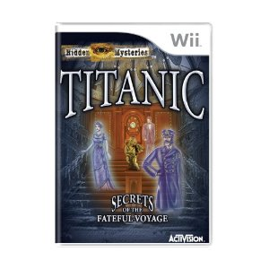 Jogo Hidden Mysteries: Titanic - Secrets of the Fateful Voyage - Wii
