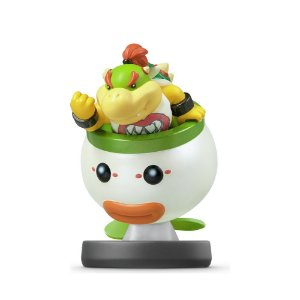 Nintendo Amiibo: Bowser Jr - Super Smash Bros - Wii U, New Nintendo 3DS e Switch