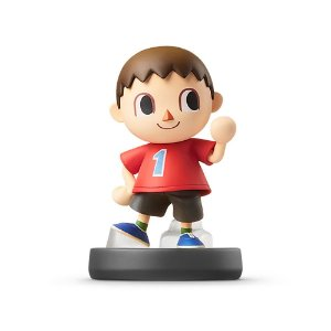 Nintendo Amiibo: Villager - Super Smash Bros - Wii U, New Nintendo 3DS e Switch