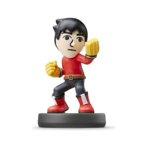 Nintendo Amiibo: Mii Brawler - Super Smash Bros - Wii U, New Nintendo 3DS e Switch