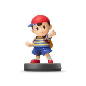Nintendo Amiibo: Ness - Super Smash Bros - Wii U, New Nintendo 3DS e Switch