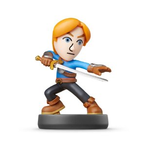 Nintendo Amiibo: Mii Swordfighter - Super Smash Bros - Wii U, New Nintendo 3DS e Switch