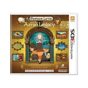Jogo Professor Layton and the Azran Legacy - 3DS
