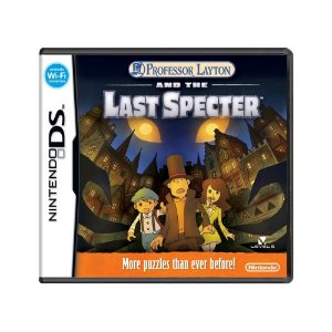 Jogo Professor Layton and the Last Specter - DS