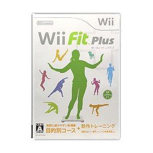 Jogo Wii Fit Plus - Wii (Japonês)
