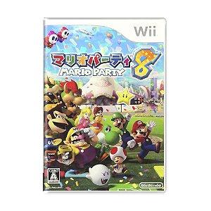 Jogo Mario Party 8 - Wii (Japonês)