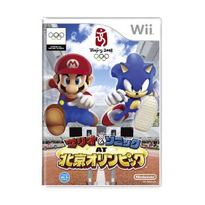 Jogo Mario & Sonic at the Olympic Games - Wii (Japonês)
