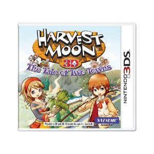 Jogo Harvest Moon: The Tale of Two Towns - 3DS