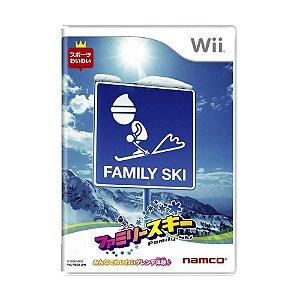 Jogo Family Ski - Wii (Japonês)